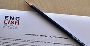 Patto formativo English&Co